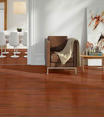 Piso laminado High floor